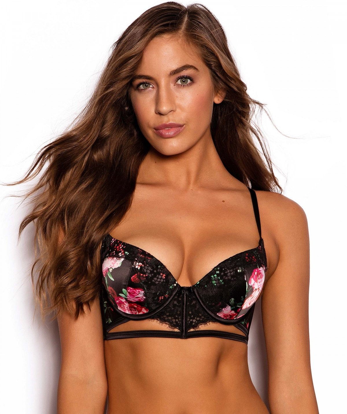 3744d492ec Be Mine Double Push Up Bra - Floral Print - All Sale