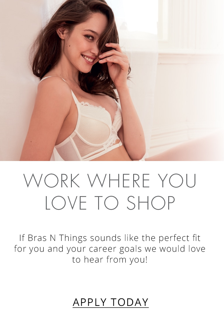 Work where you love to shop