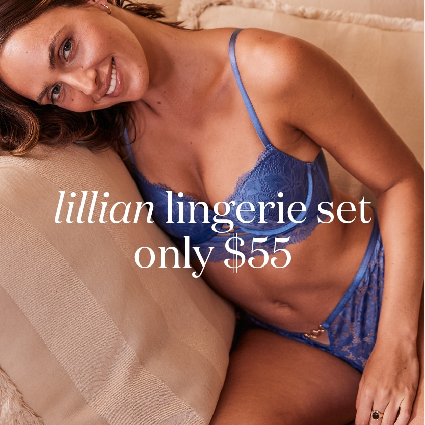 Lillian Lingerie Sets from $55