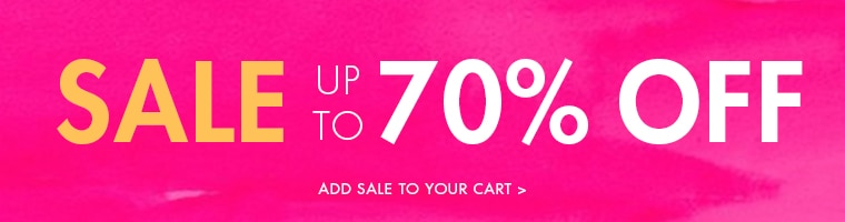 Up to 70% of Sale